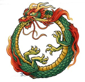 The truth is that life is like the dragon Ouroboros, and the wheel goes round and round.